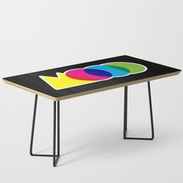 Mood Meme Colorful Geometric Typography Coffee Table