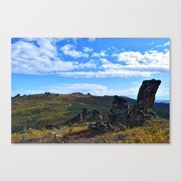 Granite Tors in the Arctic Canvas Print