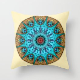 Mandalas from the Heart of Surrender 6 Throw Pillow