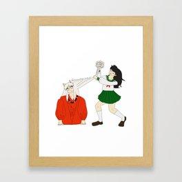 Tangles Framed Art Print