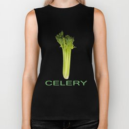 Celery Meets World Biker Tank