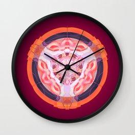 Woman Power Mandala Wall Clock