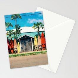 Surfboard Rainbow Stationery Cards