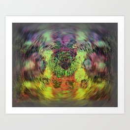 Cataract Art Print