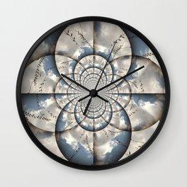 Hypnotic Sky Wall Clock