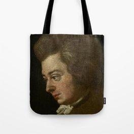 Wolfgang Amadeus Mozart (1756 -1791) by Joseph Lange Tote Bag