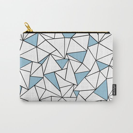 Ab Out Blue Blocks Carry-All Pouch