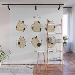Feline good! Wall Mural