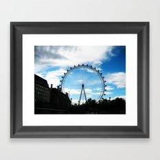 London Eye II Framed Art Print