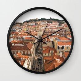 Lisbon The Castelo de São Jorge Wall Clock
