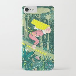 Spring in the jungle iPhone Case