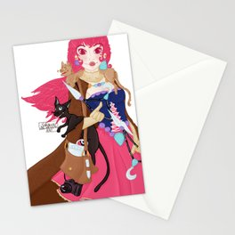 La Princesse des chats Stationery Cards