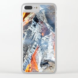 fire, ember and ash Clear iPhone Case