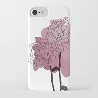 peonies iPhone & iPod Cases featuring peonies by morgan kendall