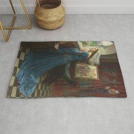 John William Waterhouse - Fair Rosamund Rug