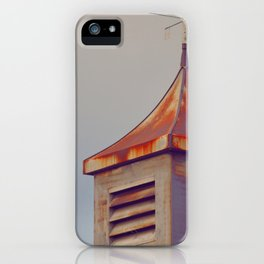 Rusted Rooftop iPhone Case