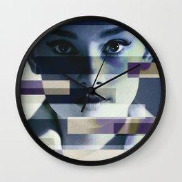 Divas - Audrey Hepburn Wall Clock
