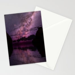 The Distant Lights Stationery Cards