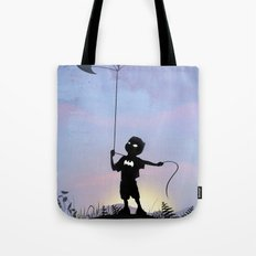 Bat Kid Tote Bag