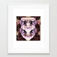 minerals Framed Art Prints featuring Mira Minerals by lalaprints
