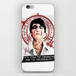 """Silent Hill - It's time to complete the """"21 Sacraments"""" iPhone Skin"""