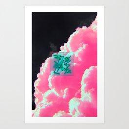 invert matte Art Print