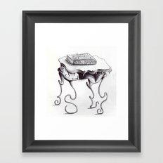 Monster Table Framed Art Print