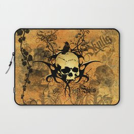Awesome skul and crow Laptop Sleeve