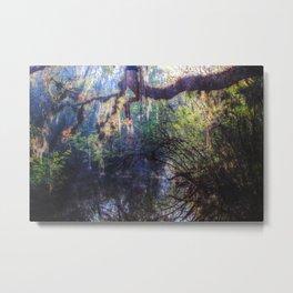 River Myst Metal Print