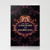 shameless Stationery Cards featuring the Shameless One by Larrydraws