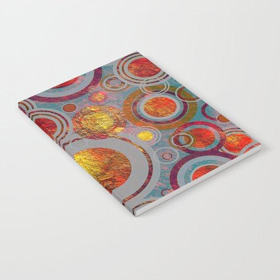 Full of Golden Dots Notebook