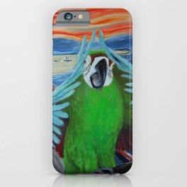 Parrot Scream iPhone Case