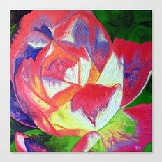 Radiant Rosa Canvas Print