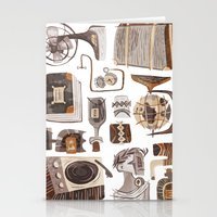 the office Stationery Cards featuring Office by pam wishbow