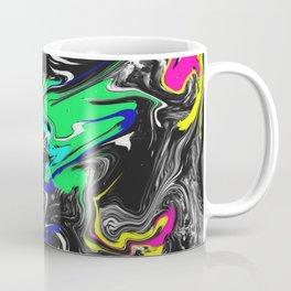 Glitch Swirly Marble Coffee Mug