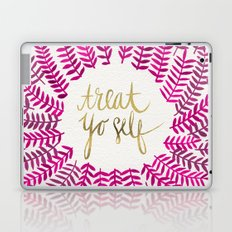 Treat Yo Self – Pink & Gold Laptop & iPad Skin