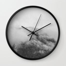 Moody clouds 1 Wall Clock