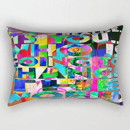 U IS GONNA MAKE CHANGE Rectangular Pillow