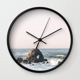 Heart rock Wall Clock