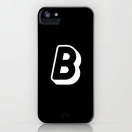 B iPhone Case