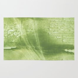 Bright green abstract Rug