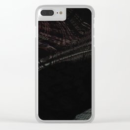 The Realm #2 (dark) Clear iPhone Case
