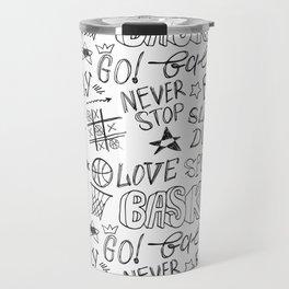 Basketball. Go! Travel Mug