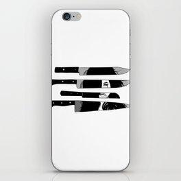 knife to meet you iPhone Skin
