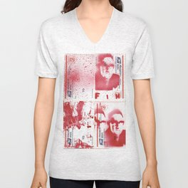 FIM - KISSINGER GONE POSTAL Unisex V-Neck