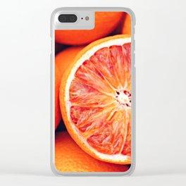 ORANGE YOU GLAD Clear iPhone Case