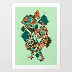 Camaleon Art Print