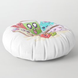 Kawaii Breakfast Floor Pillow