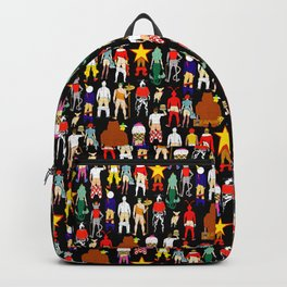 Fast Food Butts with Text Backpack