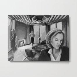 Scully x Stella x Bedelia Metal Print